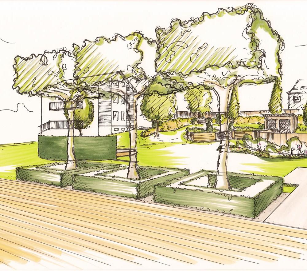 Gartenplanung – Gemeinschaftsgarten