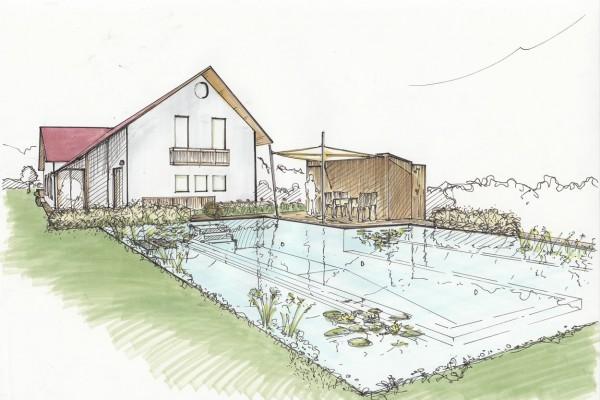 Gartenplanung – Umwandlung eines Bestandsgartens